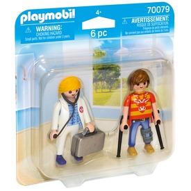 Playmobil Duo Pack orvos és páciens 70079