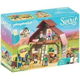 Playmobil Lucky, Prudi és Abigél istállója 70118