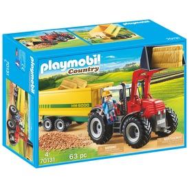 Playmobil Traktor utánfutóval 70131