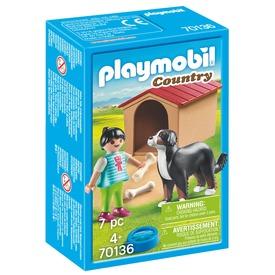 Playmobil Házőrző kutyaházzal 70136