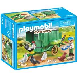Playmobil Mobil tyúkól 70138