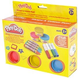 Play Doh formák és színek gyurmakészlet