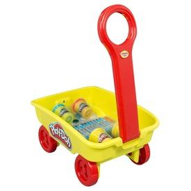 Play Doh húzható kiskocsi gyurmákkal