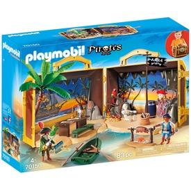 Playmobil Hordozható kalózsziget 70150