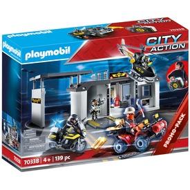 Playmobil Speciális Egység hordozható központja 70338