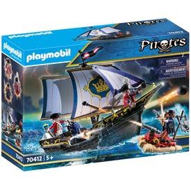 Playmobil Piros zubbonyos hajós katona 70412