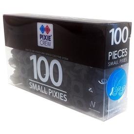 Pixie betű 100 darabos készlet - fekete-fehér