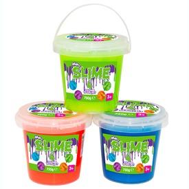 Slime vödrös zselé - 750 g, többféle
