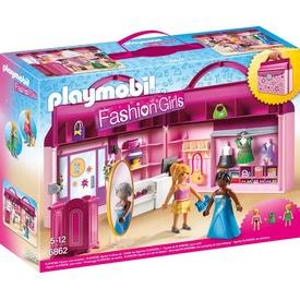 Playmobil Hordozható ruhaszalon készlet 6862