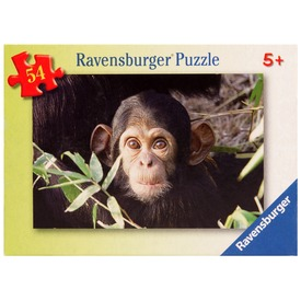 Állatkölykök 54 darabos miniatűr puzzle - többféle