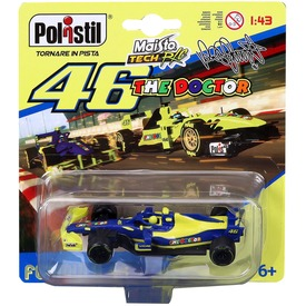 Maisto Tech 1 /43 VR46 F1 autó