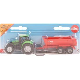 Siku: Deutz-Fahr traktor utánfutóval - 1:87 Itt egy ajánlat található, a bővebben gombra kattintva, további információkat talál a termékről.