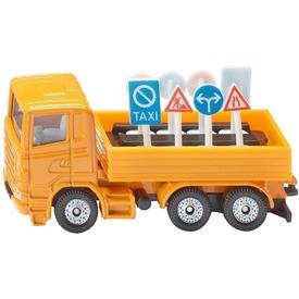 Siku: teherautó közúti táblákkal 1:55