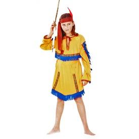 Indián lány jelmez - 120-130, 130-140-es méret