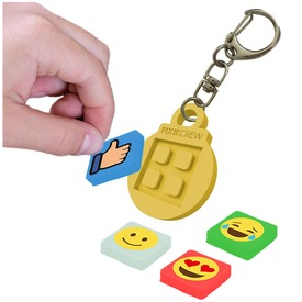 Pixie kulcstartó sárga