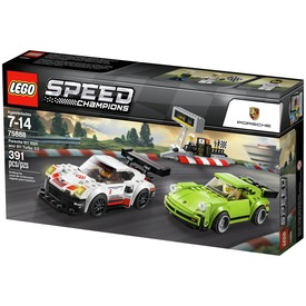 LEGO Speed Champions 75888 Porsche 911 RSR és 911 Turbo 3. 0