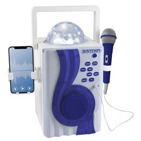 Karaoké erősítő mikrofonnal