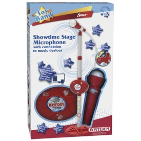 MP3 konzol mikrofonnal