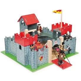 Le Toy Van: Camelot fa lovagvár Itt egy ajánlat található, a bővebben gombra kattintva, további információkat talál a termékről.