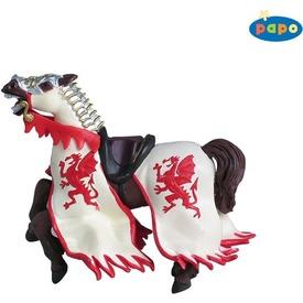 Sárkány pajzsos katona lova /piros Itt egy ajánlat található, a bővebben gombra kattintva, további információkat talál a termékről.