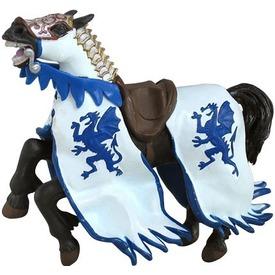 Papo kék sárkány pajzsos katonaló 39389