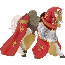 Papo Középkori ló lepellel /piros-sárga /39390 Itt egy ajánlat található, a bővebben gombra kattintva, további információkat talál a termékről.