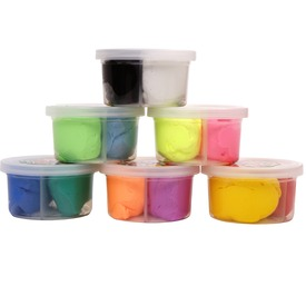 Super Dough gyurma két színben - 28 g, többféle