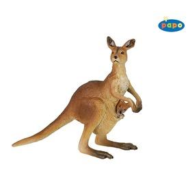 Papo kenguru bébivel figura