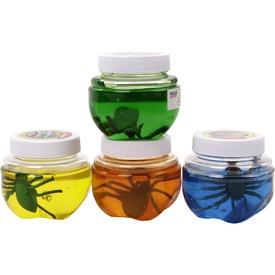 Slime pókkal - 150 ml, többféle