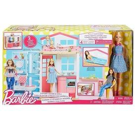Barbie két emeletes luxus ház babával