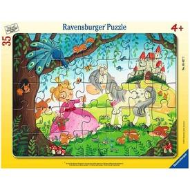 Puzzle 35 db -Kis hercegnők világa
