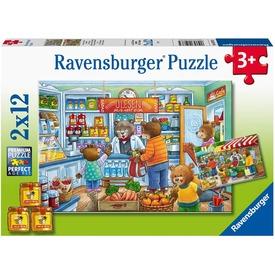 Puzzle 2x12 db - A boltban