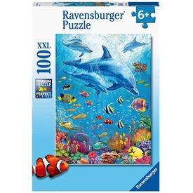 Puzzle 100 db - Delfin a vízben