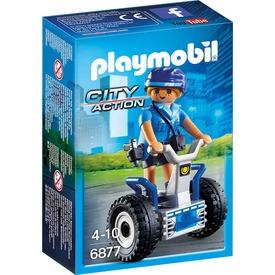 Playmobil Rendőrnő kétkerekű járgánnyal 6877