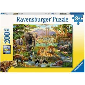 Puzzle 200 db - A szavanna állatai