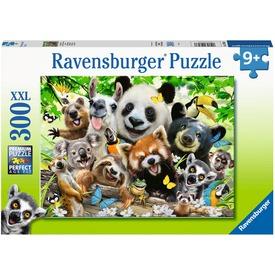 Puzzle 300 db - Vadvilág-szelfi