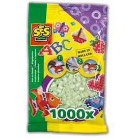 Vasalható gyöngy 1000 darabos - fluoreszkáló