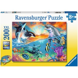 Puzzle 200 db - Víz alatti élet