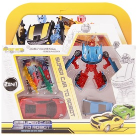 Transzformer autó 2 autó /csomag, 8 féle 26005