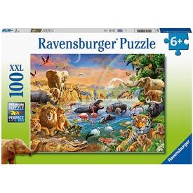 Puzzle 100 db - Fürdés a vízben