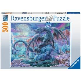 Puzzle 500 db - Jégsárkány
