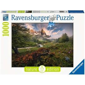 Puzzle 1000 db - Francia Alpok
