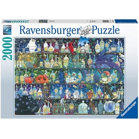 Puzzle 2000 db - A méregkeverő szekrénye