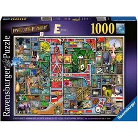 Puzzle 1000 db - Varázslatos ABC E