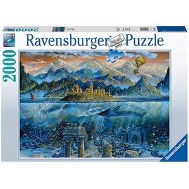 Puzzle 2000 db - A bölcs bálna