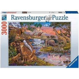 Puzzle 3 000 db - Állati Királyság