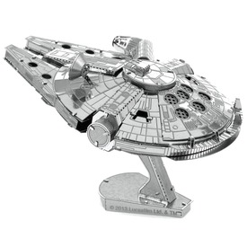 Metal Earth Star Wars Millenium Falcon modell