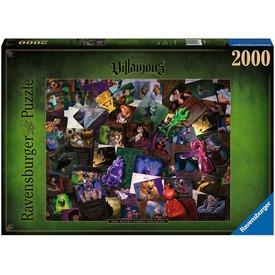 Puzzle 2000 db - Disney a Gonoszok