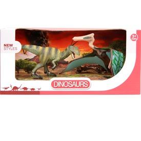 Dinoszaurusz 2 darabos készlet - 14 és 17 cm