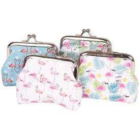 Flamingós pénztárca, 4 féle